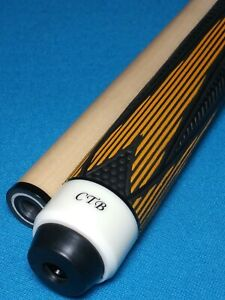 Details about CTB Custom Pool Cue Yellow/Black Edition 19 00oz 13mm 3/8-10  Joint