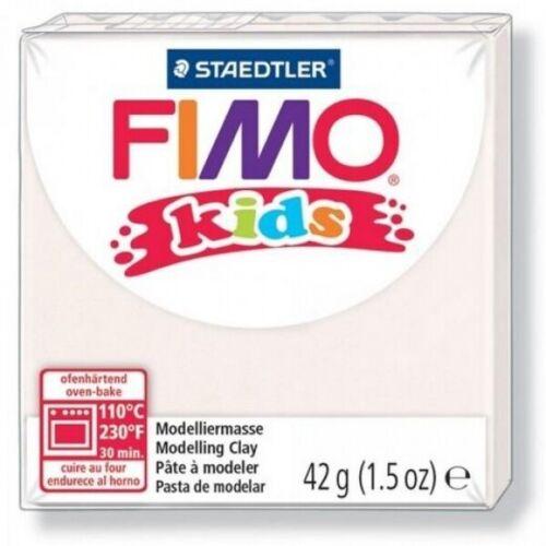 Neuf Pâte FIMO Kids Blanc n° 0 42gr