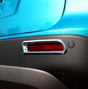 ABS Hinten Nebelleuchten Abdeckleiste 2 Stück für Suzuki Vitara Escudo 2015-2020