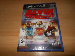 Alvin-and-the-Chipmunks-Ps2-jeu-TOUT-NEUF-scelle
