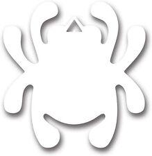 Spyderco Knife New Mirror Decal Bug White STK1