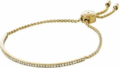 MICHAEL KORS BRILLIANCE GOLD TONE CUBIC ZIRCONIA LADIES BRACELET MKJ4130710 4053858420298 | eBay