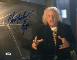 CHRISTOPHER-LLOYD-SIGNED-11X14-PHOTO-BACK-TO-THE-FUTURE-DOC-BROWN-AUTO-PSA-DNA