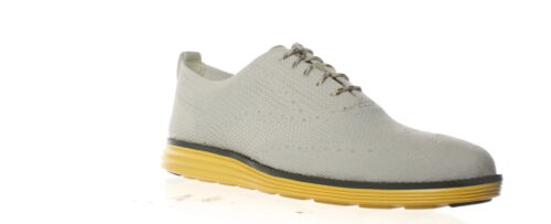 Cole Haan Mens Originalgrand Grey Wing Tips Size 12