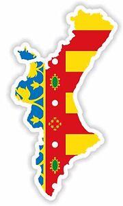 Sticker Comunitat Valenciana the Valencian Community Valencia Spain ...