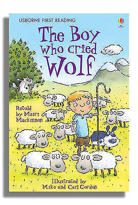1 of 1 - The Boy Who Cried Wolf (First Reading) by Mairi Mackinnon