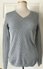 6a8638bef0 Buy Michael Michael Kors Womens Green Embellished Crewneck Sweater ...