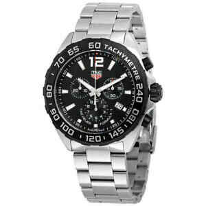 6a13e50edf62 Tag Heuer Formula 1 Chronograph Black Dial Men s Watch CAZ1010 ...