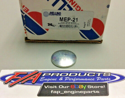 """Melling MEP-21 Steel 1-3//16/"""" Engine Freeze Out Expansion Convex Disc Type Plugs"""