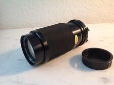 Soligor  Zoom+macro 80-200mm C/D 1:4.5 Lens for Minolta camera & instructions