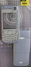 Nuevo!! decorado en gris azulado vivienda / Panel / cubierta / Funda Para Nokia 6680