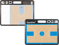 Sports Write Pro Men And Women Coaches Strategic Basketball White Board (new)