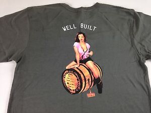 Stranahan-039-s-Shirt-Colorado-Whiskey-Well-Built-Men-Medium-Cleavage-Girl-Big-Boobs