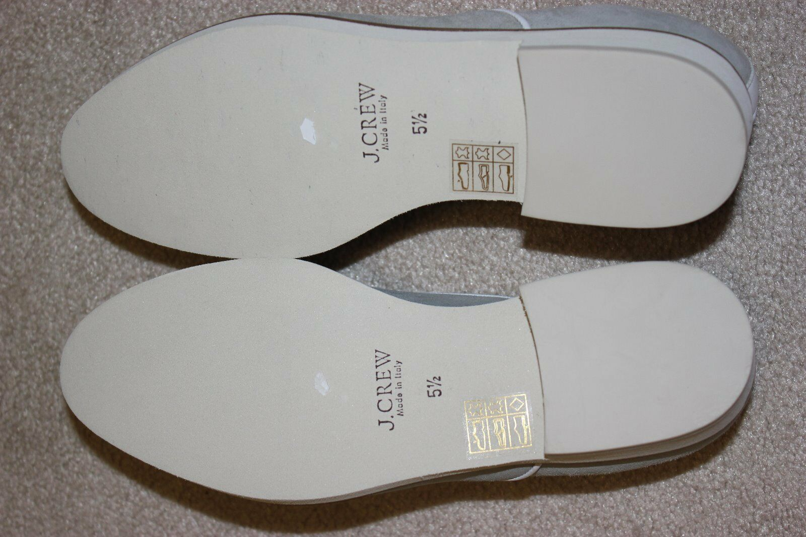 J Crew Suade Piped Mercer Loafer Damenschuhe 5.5 B7952 NEW B7952 5.5  Retails 250 a8c88c