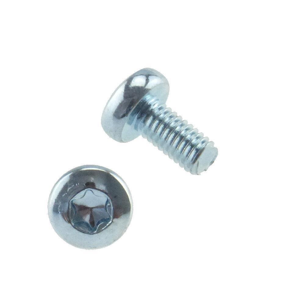 Linsenschrauben mit ISR = Innensechsrund ähnl DIN 7985 4.8 Stahl gal verz M5-M6