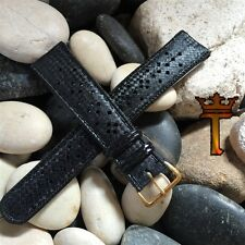 20mm Tropic Type Perforated Diver Strap New Old Vintage Watch Band nos