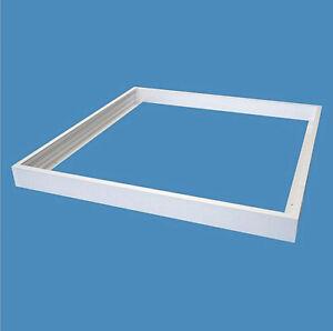 600x600mm Surface Mount Frame Kit LED Panel Light Ceiling Aluminum White Finish