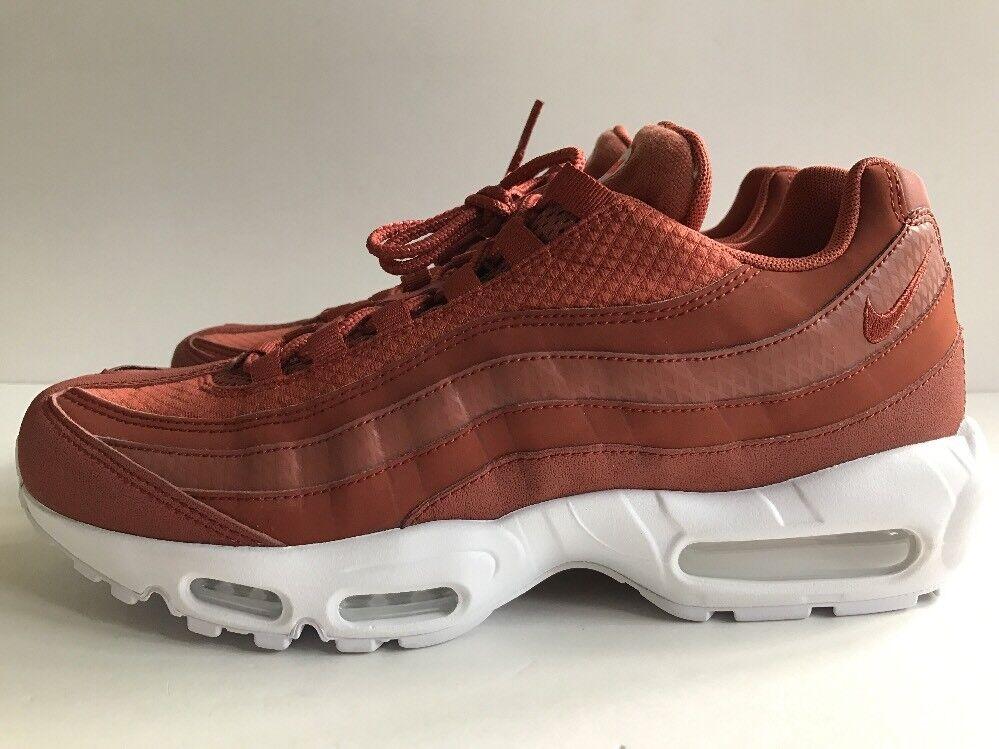 Nike Air Max 95 Premium PRM shoes Dusty Peach White Rust Men's Sz 10 924478-200