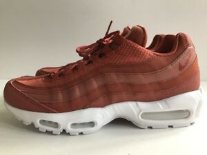 best service 4b248 de4b7 Details about Nike Air Max 95 Premium PRM Shoes Dusty Peach White Rust  Men's Sz 10 924478-200