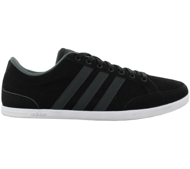 online store 8e988 b85b7 Adidas Caflaire Low Mens Trainers Shoes Leisure Black AW4705