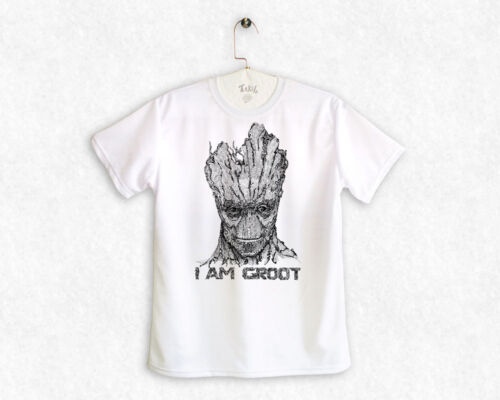 Groot,Guardians of the Galaxy Doodle Unisex T-Shirt by Takila