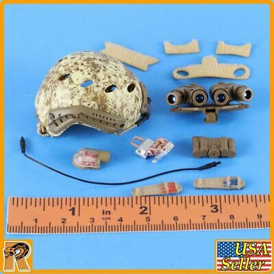 1//6 Scale Mini Times Action Figures Navy SEAL Winter FAST Helmet Set