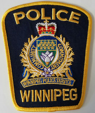 Winnipeg Police Service Cloth Patch