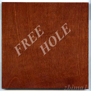 "1 Lens Board 7""x 7"" for Gundlach ""CRITERION"" Camera, Plywood 3/8"" & free hole"