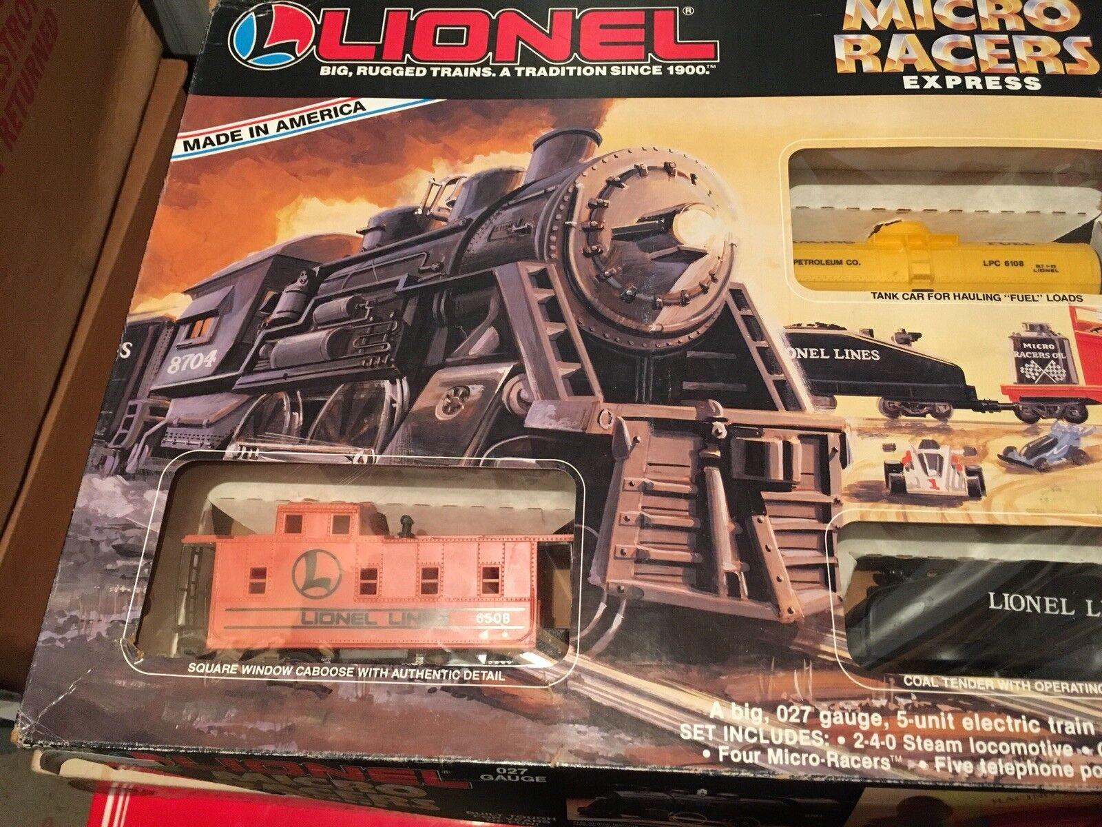 Lionel  6-1171 Micro Racers Express 027 Gauge