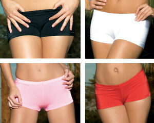 Nylon-Lycra-Hot-Pants-Regular-amp-Plus-Sizes-Shorts-Adult-Woman-Clothing