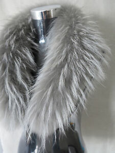 New made Genuine raccoon fur collar / fur scarf /wrap 8