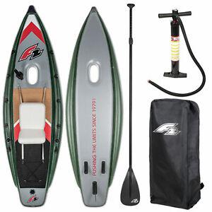 F2 Pêche Bateau Gonflable de + Pagaie Cutter Sup-Set Kayak Neuf