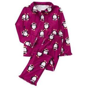 NWT Gymboree Flannel Penguin Pajama Set Gymmies Sleep Set Pajamas ...