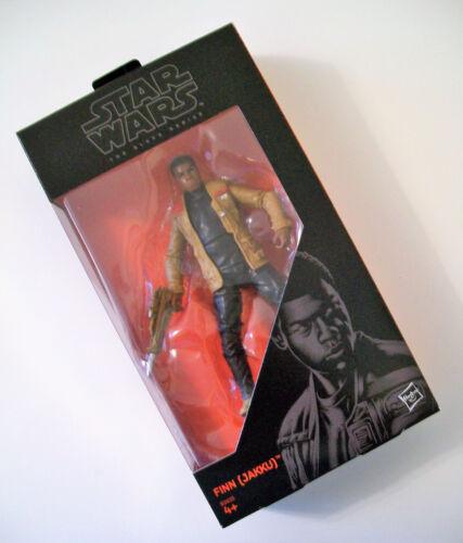 """Jakku Star Wars The Black Series 6/"""" Figure numéro 01 Finn B3835"""