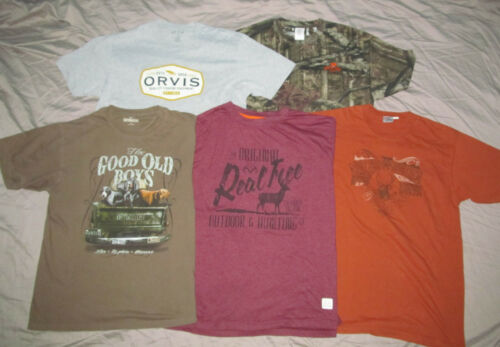 Realtree Outdoor Life Mossy Oak Orvis Men L Large