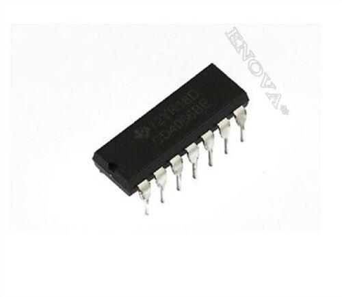 20 Stücke Cmos Quad Ti CD4066 Bilateraler Schalter DIP-14 CD4066BE New Ic vu