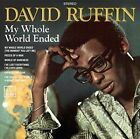 My Whole World Ended (spa) 8435395501542 by David Ruffin CD