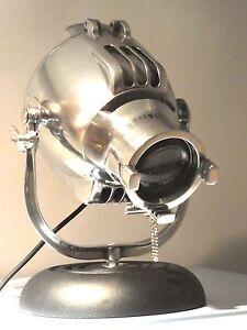 Image Is Loading VINTAGE STRAND THEATRE SPOT LIGHT INDUSTRIAL DESK LAMP