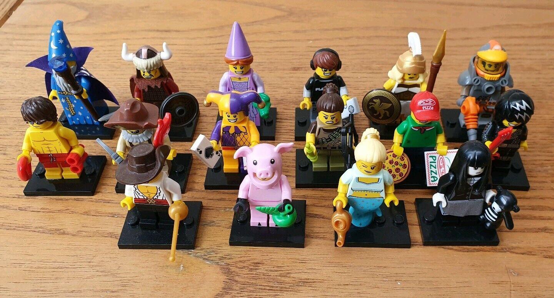 NEW LEGO MINIFIGURE serie 12 FULL SET OF 16 MINIFIGURES NEW