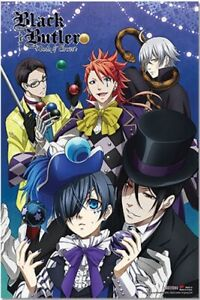 HOT Anime Black Butler Wall Poster Scroll Home Decor Cosplay 027