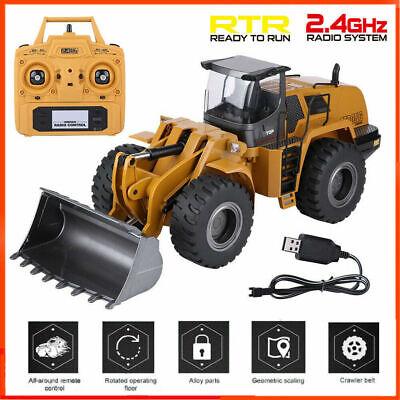 Huina583 1583 RC wheel loader Half Metal Excavator Electric Engineering Vehicle