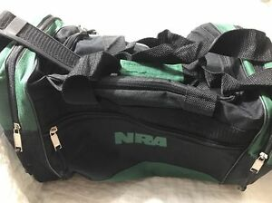 Image Is Loading Nra Range Bag Duffel Carry Black And