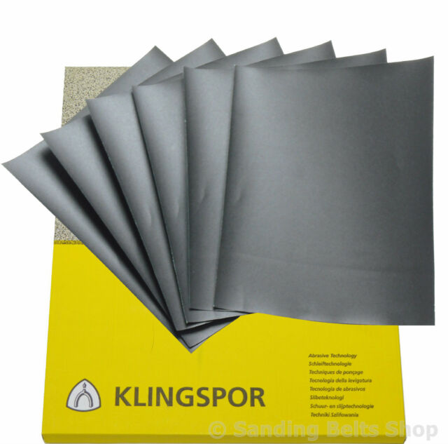 WET AND DRY PAPER  1200, 1500, 2000, 2500 GRIT 2 OF EACH MIXED GRIT SANDPAPER