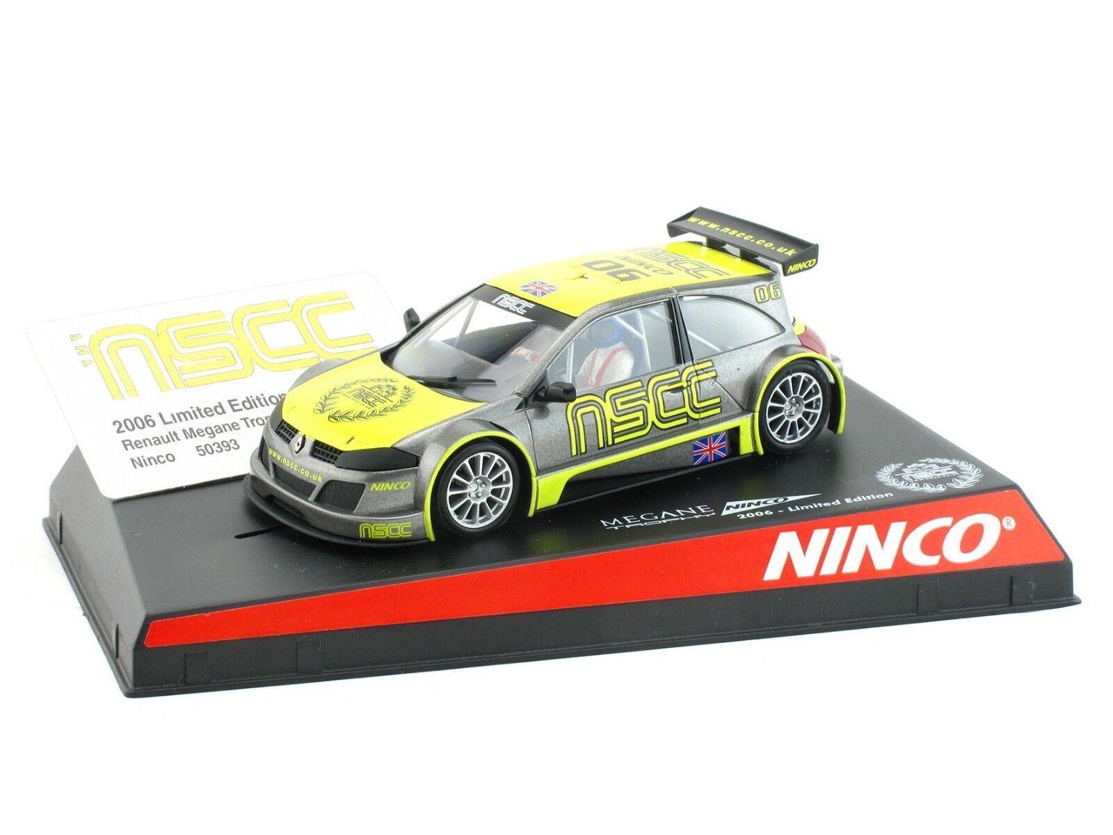 NINCO Renault Mégane  NSCC  Ltd. Ed. ref. 50393 1 32 Slot Car