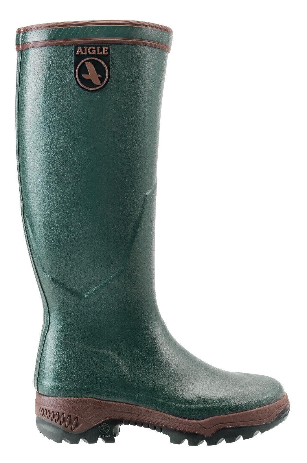 SALE Ladies Aigle Boots Parcours 2 Rubber Wellington Boots Aigle Green 1611ef