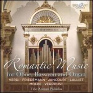 Romantic Music for Oboe Basson and Organ - Trio Andrea Palladio CD