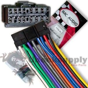s l300 sony 16 pin stereo wiring harness ships from usa sy16 ebay sony 16 pin wire stereo plug harness at readyjetset.co