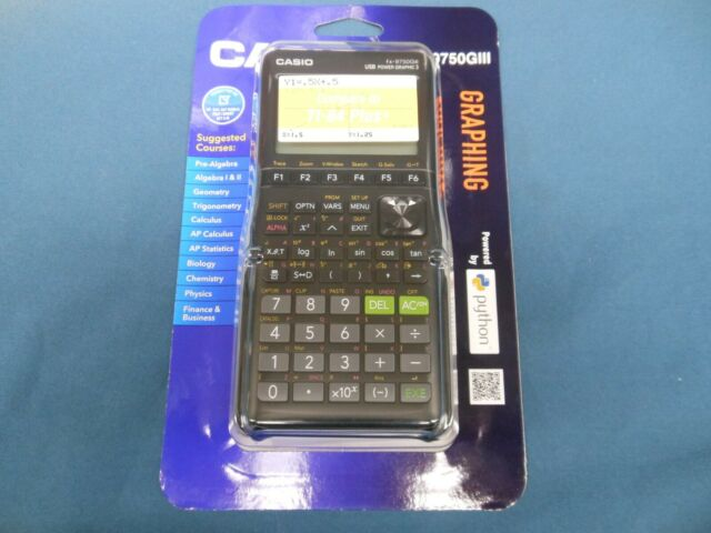 NEW Casio fx-9750GIII Graphing Calculator - Black