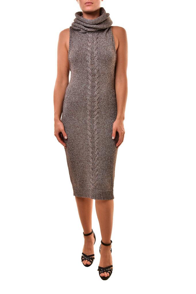 One Teaspoon Woherren 18736 High Neck Long Dress grau Größe S RRP  BCF811