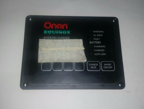 Onan Equinox Invertor//Charger Electric Remote Panel